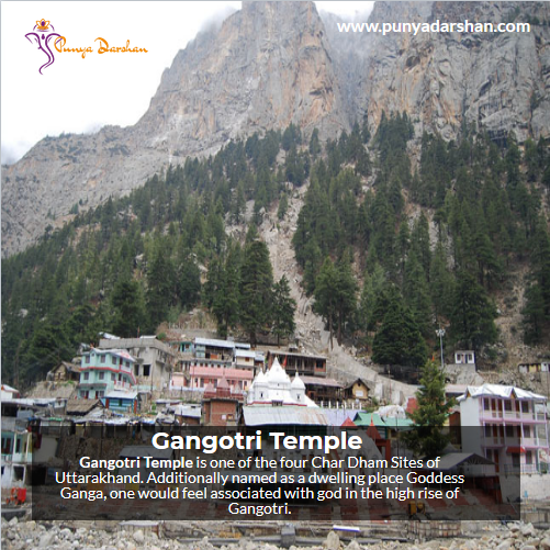 Punyadarshan, Gangotri Temple, Gangotri, Temple, CharDham, Uttarakhand, GoddessGanga, Ganga, India, famoustemple, indiantemple, topindiantemple, India