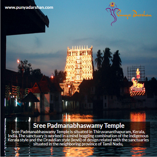 Sree Padmanabhaswamy Temple, Padmanabhaswamy Temple, Temple, Thiruvananthapuram, Kerala, Hindu Temple, punyadarshan, Punya, Darshan, India, indian Temple, famous indian temple, Hindu temple, Famous Hindu Temple
