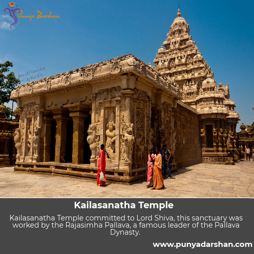 Punyadarshan, History of Kailashanatha Temple, Kailashanatha Temple, Kailasanathar Temple, Kailashanatha Temple timings, Kailasanathar Temple Kanchipuram, Famous Indian Temple, Famous Temple in Tamil Nadu, Tamil Nadu, India, Best Tourism Places in India