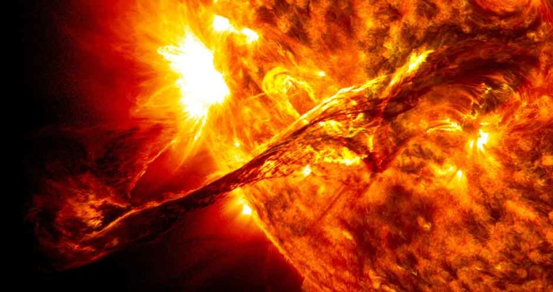 Sun chants OM